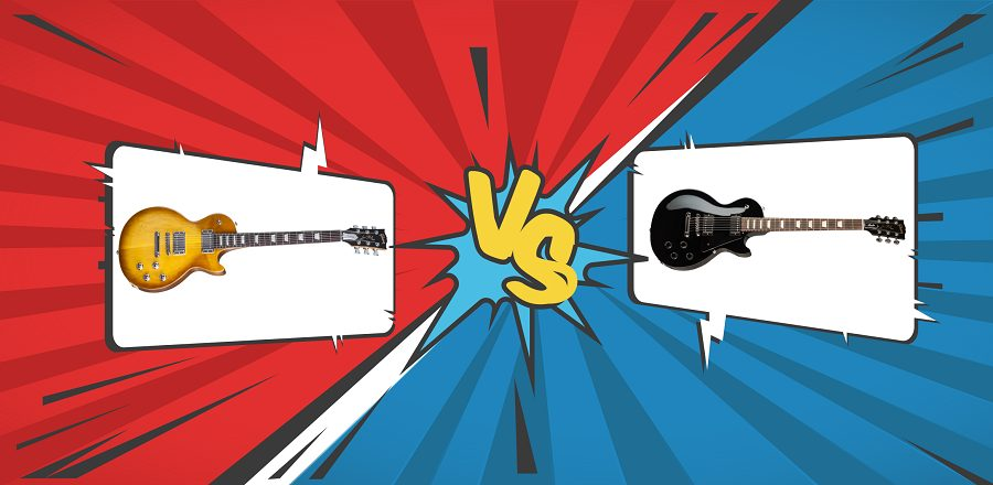 Gibson Les Paul Tribute VS Les Paul Studio (banner)