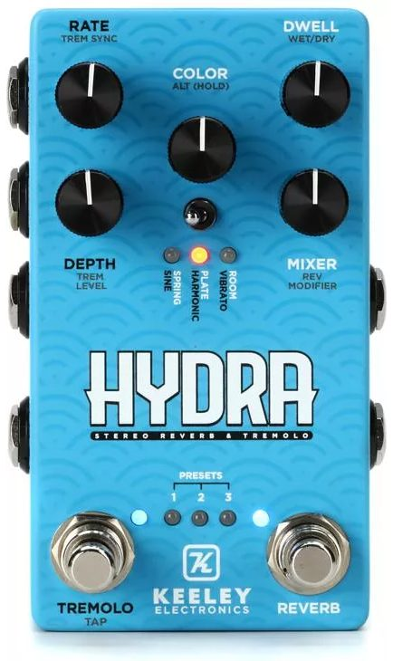 Keeley Hydra Reverb and Tremolo (full)