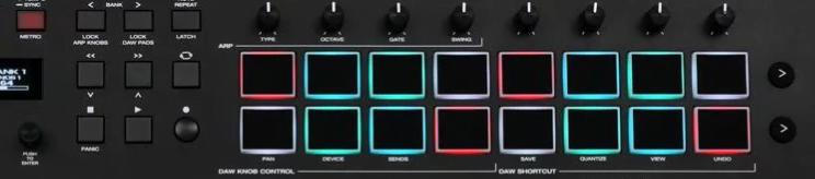 M-Audio Oxygen Pro 61 Controls