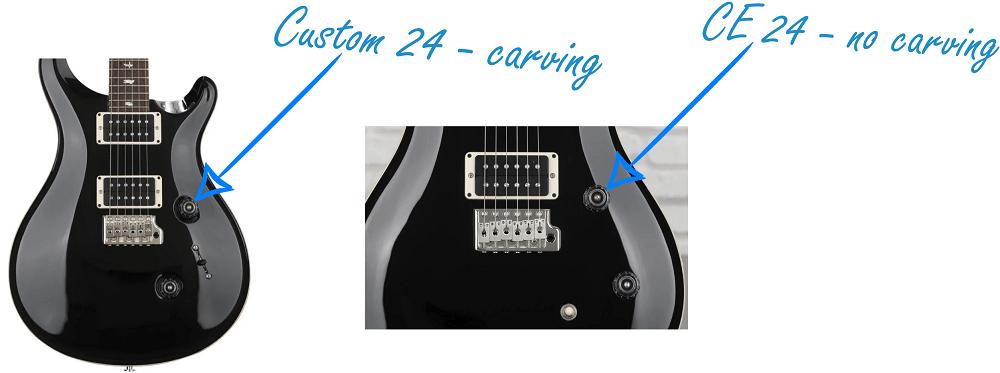 PRS CE 24 VS Custom 24