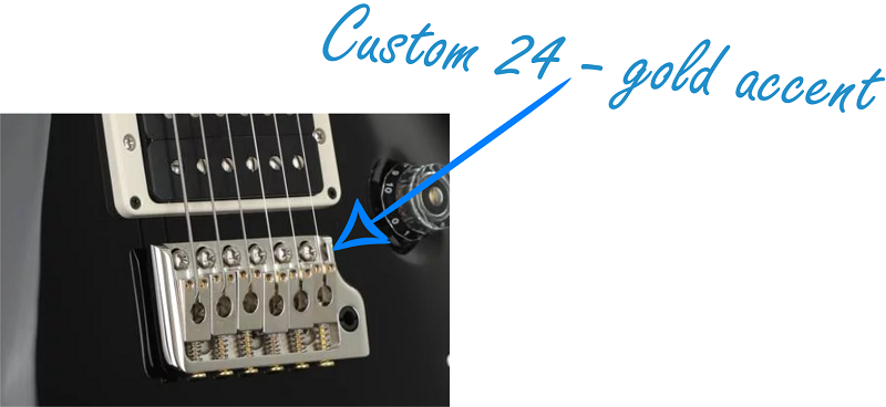 PRS Custom 24 Gold Accent