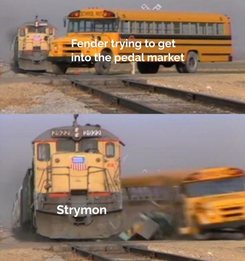 Strymon Flint VS Fender Tre-Verb Meme