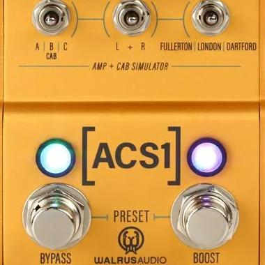 Walrus Audio ACS1 Amp and Cab Simulator Product Square